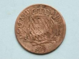 1808 BAIERN - 6 KREUZER / KM 686 ( Uncleaned - For Grade, Please See Photo ) ! - [ 1] …-1871 : Etats Allemands