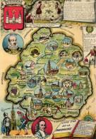 Cartes Geographiques.La Dordogne - Cartes Géographiques