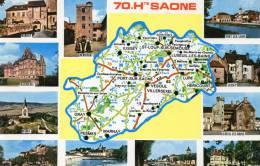 Cartes Geographiques.Haute Saone.70 - Cartes Géographiques