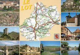 Cartes Geographiques.Le Lot.46 - Cartes Géographiques