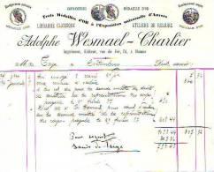 Namur - Adolphe Wesmael-Charlier - Librairie Classique - Ateliers De Reliure - Imprimerie & Papeterie
