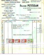 Namur - 1947 - Félicien Petitjean - Imprimerie - Librairie Spéciale - Printing & Stationeries