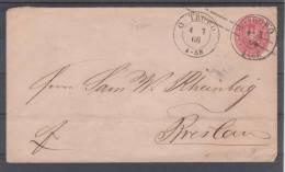 Brief Von OSTROWO Nach BRESLAU - Pruisen