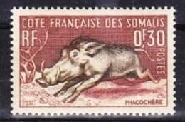 1958-Somaliküste-Mi 314,315 (**) - Neufs