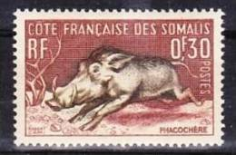 1958-Somaliküste-Mi 314,315 (**) - Nuevos