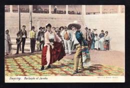 MEX-15 MEXICO DANSING BAILANDO EL JARBE - Mexico