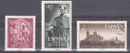 1953 - ESPAGNE - Y&T N° 835 à 837 - NEUFS ** -  700 Ans Université De Salamanque - Série Complète - 1951-60 Unused Stamps