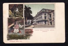 PA-06 PANAMA CENTRAL HOTEL & WOLFES SALOON - Panama
