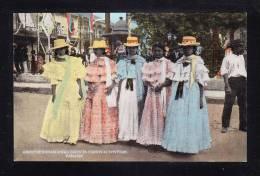 PA-23 PANAMA GROUP OF PANAMIAN GIRLS IN CARNIVAL COSTUME - Panama