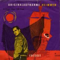 """* 7"""" *  FREDDY - HEIMWEH / SIE HIESS MARY-ANN ( Germany 1956) - Vinyl-Schallplatten"""