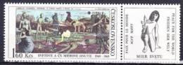 ** Tchécoslovaquie 1969 Mi 1869 Zf (Yv 1716) Avec Vignette, (MNH) - Nuovi