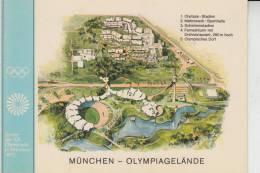 SPORT - OLYMPIA - München 1972 / Olympiagelände - Cartes Postales