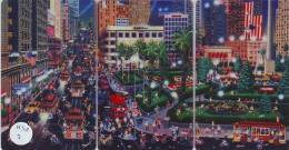 3 Telecartes En Puzzle USA (2) TRAM  * TRAIN *  SAN FRANCISCO *  MINT *  INUTILISÉ - Puzzles