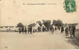 CPA 45 CAMP DE CERCOTTES Poste De Police , Vélos , Animées - France