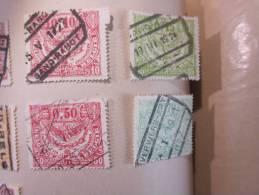 COLLECTION TIMBRES  BELGIQUE E DEBUT 1849 OBLITERES OU NEUFS AVEC  CHARNIERES - Non Classés