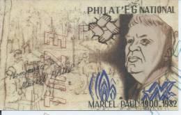 AMA- Marcel PAUL Ministre -Resistant Et Déporté. Artisan De La Nationalisation Des Industries Elec Et Gaz  8 Avril 1946 - Politieke En Militaire Mannen