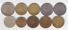 @Y@   Lot  WERELDMUNTEN  / TOKEN   (  W 41 ) See Scan - Autres Monnaies