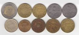 @Y@   Lot  WERELDMUNTEN  / TOKEN   (  W 41 ) See Scan - Monnaies