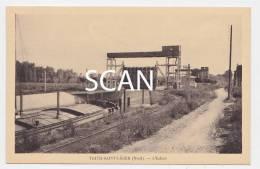 TBE Postcard Postkarte Cp TRITH SAINT LEGER Rare Vue De L écluse Ouverte Passage Péniche Halage 59 Nord - Unclassified