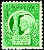 USA 1943 Scott 908, Four Freedoms, MNH ** - Vereinigte Staaten