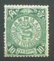 CHINE- CHINA 1902 Type Dragon 10 Cents  Neuf* - Mint With Gum - Ungebraucht