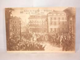 Entrée De Léopold II à Bruxelles. 17 Décembre 1865. - Royal Families
