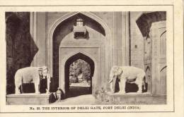 The Interior Of Delhi Gate , Fort Delhi - India