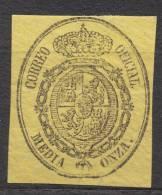 Spain 1855 Dienstmarken Mi#5a Mint Hinged - 1850-68 Königreich: Isabella II.
