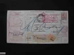 == Italien , Paket Karte 1918 - 1900-44 Vittorio Emanuele III