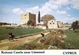 CYPRUS - 1970's - KOLOSSI CASTLE NEAR LIMASSOL - PERFECT MINT QUALITY - Cyprus