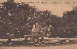 Roma  Villa Borghese - Fontana Dei Cavalli Marini  A-863 - Roma (Rome)