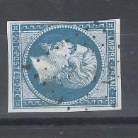 Empire N° 14 B, Type 2, Obl PC 3512 De VENDEUIL, Aisne, INDICE 13, TB - 1853-1860 Napoleon III