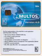 Not Phonecard - Multos - Sample? Chipcard II17 - Other Collections