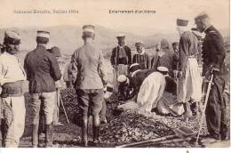 MAROC.MILITARIA.ENTERREMENT D'UN HEROS.COLONNE KENIFRA. - Morocco