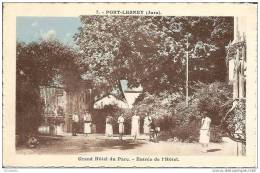 39 PORT LESNEY     - Grand Hotel Du    Parc - Entrée De L,Hotel - Autres Communes