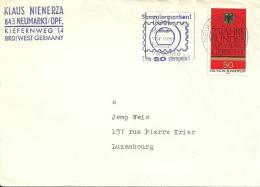 Deutschland 1976 Neumarkt -- Luxembourg - BRD