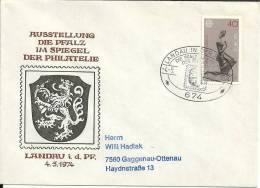 Deutschland 1974 Landau In Der Pfalz - BRD