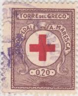 SI53D Italia Italy Marche Da Bollo Comunali Revenue Comune Torre Del Greco Pro Ospedale A.Maresca L. 0,20 Us. - Italia