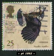 1996 - Europe - Grande-Bretagne - 25 P. Vanneau Huppé  ( Vanellus Vanellus ) -