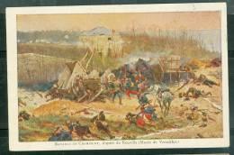 Cpa Illustrée  Guere De 1870 , Bataille De  Champigny , D'après De Neuville , Musée De Versailles )    - Bcb37 - Otras Guerras