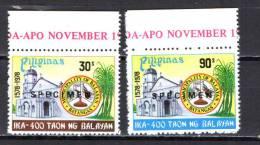 "Philippines 1978 Michel 1251-1252 Balayan 400th Anniversary Set Of 2 ""Specimen"" MNH - Filippine"