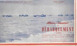 ALBUM SOUVENIR DEBARQUEMENT BATAILLE NORMANDIE JUIN 1944 LIBERATION DDAY INVASION PLAGES - 1939-45
