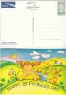 1998 Irlanda Ireland Eire St Patrick´s Day Greetings Postcard Mint - Interi Postali