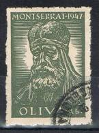 Viñeta De Montserrat (barcelona) 1947.  Abad OLIVA - Errors & Oddities