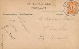 568/20 - PREMIER MOIS DE GUERRE - Carte-Vue BRUGES TP Pellens OOSTENDE 2 Du 4 VIII 14 - JOUR DE L´ INVASION ALLEMANDE - Invasion