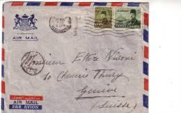 Lettre Egypte Pour Genève (3611) - Egypt