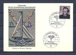 DUITSLAND, 19/01/1967 Deutsche Boots Ausstellung - HAMBURG  (GA8470) - Bateaux