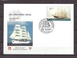 DUITSLAND, 25/06/2011 129 Jahre Kieler Woche - KIEL  (GA8472) - Bateaux