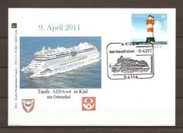DUITSLAND, 09/04/2011 Tanfe Clubschiff   - KIEL  (GA8477) - Bateaux