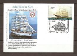 DUITSLAND, 16/04/2011 Kieler Briefmarkenborse   - KIEL  (GA8478) - Bateaux